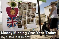 Maddy Missing One Year Today