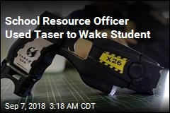 School Officer Used Taser to Wake Up Sleeping Student