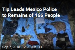 166 Skulls Found in Mexico Mass Grave