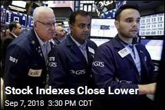 Stock Indexes Close Lower