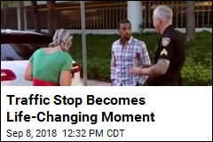 Traffic Stop Becomes Life-Changing Moment