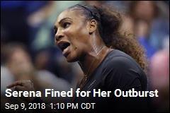 Serena Williams Fined $17K