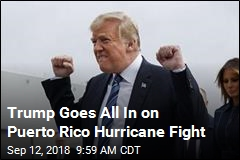 Trump, Puerto Rico Officials Take Swings at Each Other