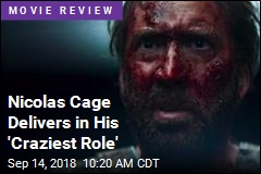 Nicolas Cage Delivers in His 'Craziest Role'