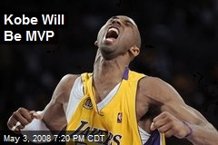 Kobe Will Be MVP