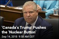 'Canada's Trump' Cuts 'Fundamental Freedoms'
