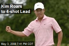 Kim Roars to 4-shot Lead
