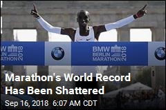 Marathon's World Record Has Been Shattered