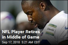 NFL Player Decides to Retire in Middle of Game