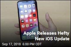 Apple Releases Hefty New iOS Update
