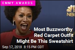 Most Buzzworthy Red Carpet Outfit Might Be This Sweatshirt