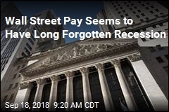 Wall Street Pay Is Doing A-OK: Report