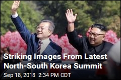 Striking Images From Latest North-South Korea Summit