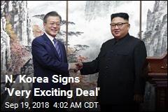 N. Korea Agrees to Shut Down Missile Sites