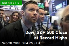 Dow, S&P 500 Close at Record Highs