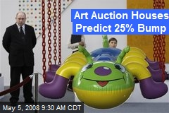 Art Auction Houses Predict 25% Bump