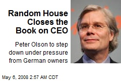 Random House Closes the Book on CEO