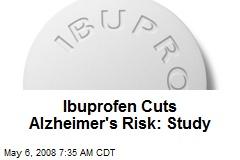 Ibuprofen Cuts Alzheimer's Risk: Study