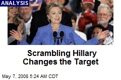 Scrambling Hillary Changes the Target