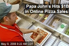 Papa John's Hits $1B in Online Pizza Sales