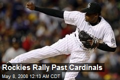 Rockies Rally Past Cardinals