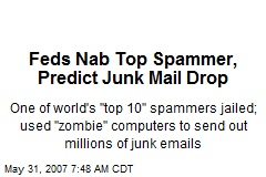 Feds Nab Top Spammer, Predict Junk Mail Drop