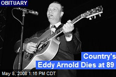 Country's Eddy Arnold Dies at 89