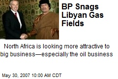 BP Snags Libyan Gas Fields