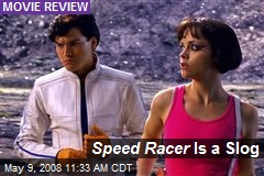 Speed Racer Is a Slog