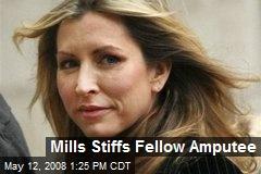 Mills Stiffs Fellow Amputee