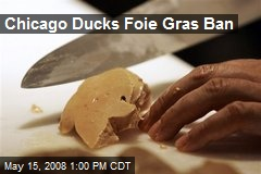 Chicago Ducks Foie Gras Ban