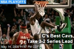 C's Best Cavs, Take 3-2 Series Lead