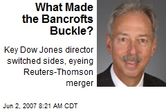 What Made the Bancrofts Buckle?