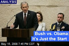 Bush vs. Obama: It's Just the Start