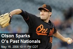 Olson Sparks O's Past Nationals