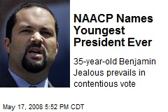 NAACP Names Youngest President Ever