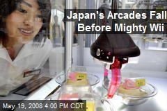 Japan's Arcades Fall Before Mighty Wii