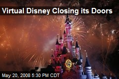 Virtual Disney Closing its Doors