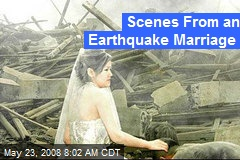 Scenes From an Earthquake Marriage