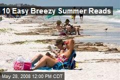 10 Easy Breezy Summer Reads
