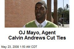 OJ Mayo, Agent Calvin Andrews Cut Ties
