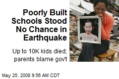 Poorly Built Schools Stood No Chance in Earthquake