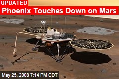 Phoenix Touches Down on Mars