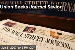 Union Seeks Journal Savior