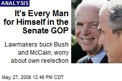 It's Every Man for Himself in the Senate GOP