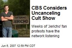 CBS Considers Uncanceling Cult Show