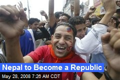 Nepal to Become a Republic