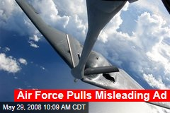 Air Force Pulls Misleading Ad
