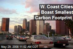 W. Coast Cities Boast Smallest Carbon Footprint