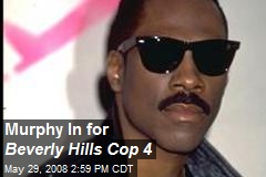 Murphy In for Beverly Hills Cop 4
